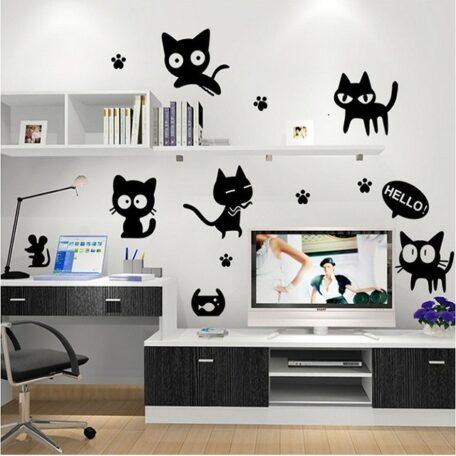 cartoon-black-cat-cute-diy-vinyl-wall-stickers-for-kids-rooms-home-decor-art-decals-3d-jpg_640x640