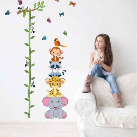 cute-tiger-animals-stack-height-measure-wall-stickers-decal-kids-adhesive-vinyl-wallpaper-mural-baby-girl-jpg_640x640