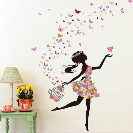personality-fairies-girl-butterfly-flowers-art-decal-wall-stickers-for-home-decor-diy-mural-kids-rooms-2