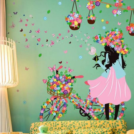 personality-fairies-girl-butterfly-flowers-art-decal-wall-stickers-for-home-decor-diy-mural-kids-rooms-3